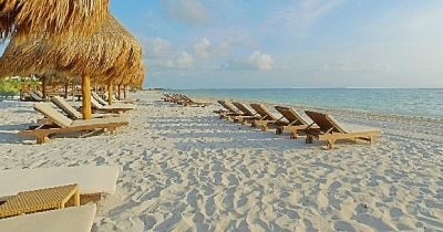 Nice beach!! The Beloved Hotel, Cancun, Mexico