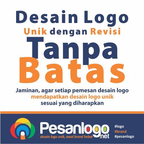 jasa desain logo unik yang kami tawarkan, dengan jaminan revisi tanpa batas ini…