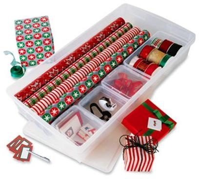 Customized Gift Wrap Center - Contemporary - Storage And Organization -  - By The Container Store