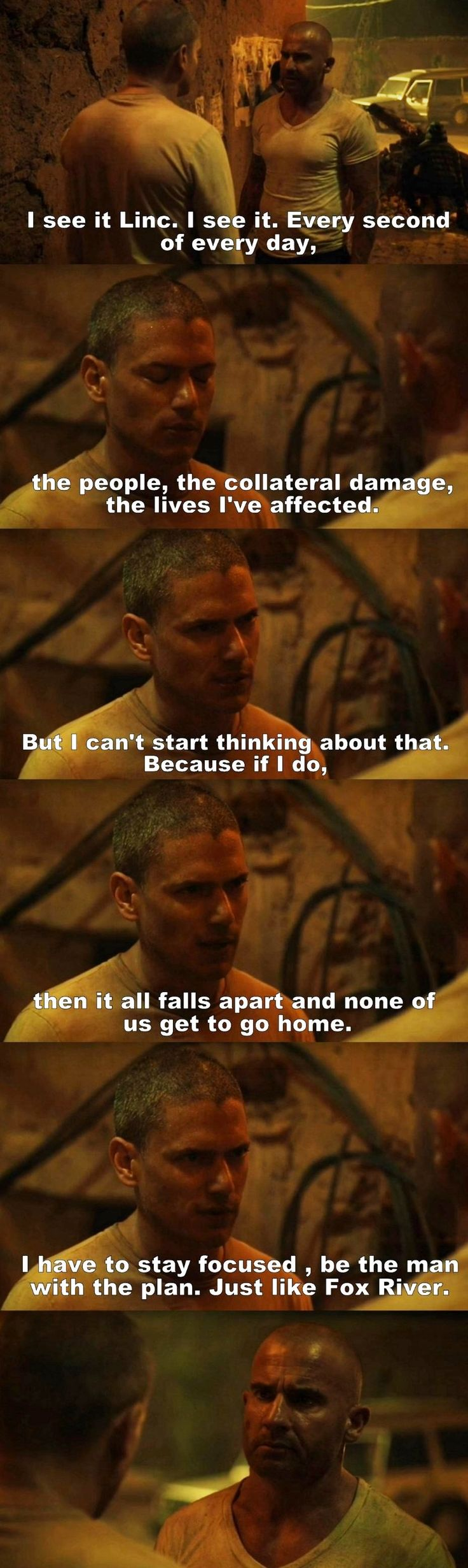 Prison break S05E05 Michael and Linc genuinely kills me that this is the last series