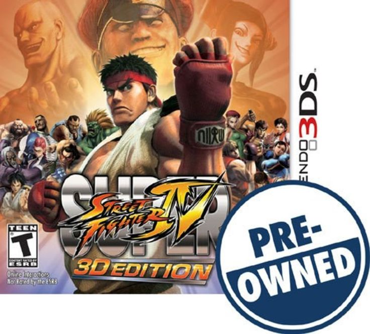 Super Street Fighter IV: 3D Edition — PRE-Owned - Nintendo 3DS