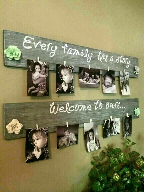 Wood pallet picture holder for Sale in Indianapolis, IN