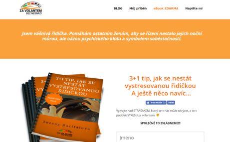 Zuzana Bucifalová a její ebook ZDARMA: 3+1 tip, jak se nestát vystresovanou řidičkou