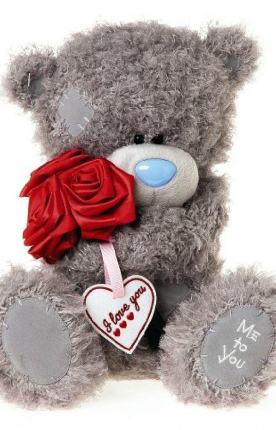 Happy Valentines Day Teddy Bear Osos Pinterest Osos