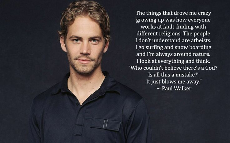 1000+ Paul Walker Quotes On Pinterest