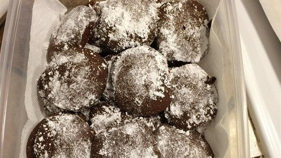 My mother used to make these cookies, they are my all time favorite.  She usually frosted them with a white icing.  I made them for my children but they usually didn't last long enough to get frosted.  Now I make them for my 14 month old granddaughter.  They are so soft and so good!  I usually double the recipe.
