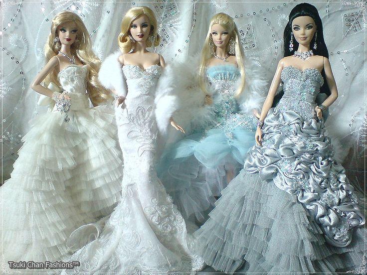Best 25+ Barbie Wedding Dress Ideas On Pinterest