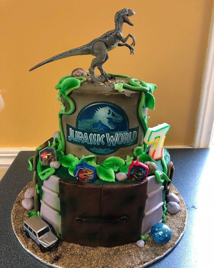Jurassic World Cake Jurassic World Cake Topper Jurassic World