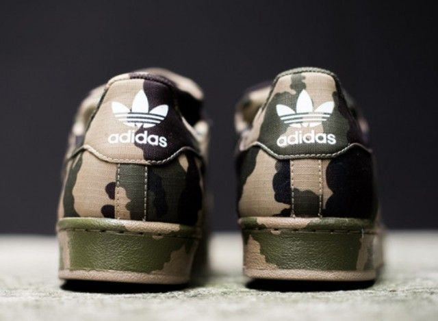 Adidas Superstars Camouflage