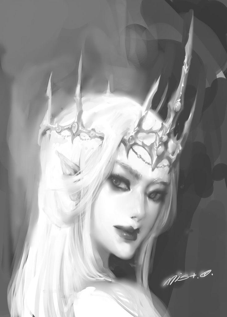 ArtStation - fairy queen, mist XG