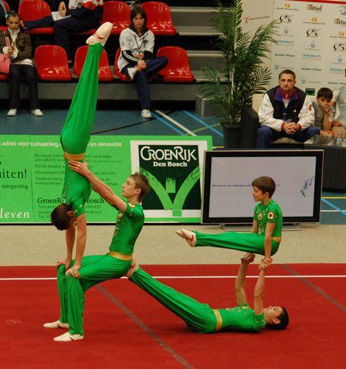 acro gymnastics pictures | acrobatic-gymnastics-Mens-Four