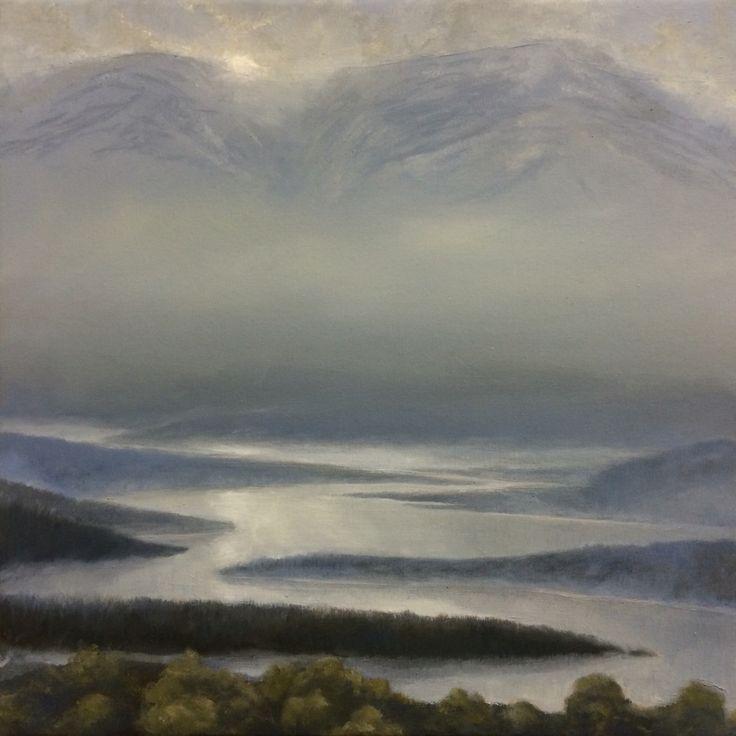 Igor Meyer. Oil on canvas. 40x40 cm. 2016.