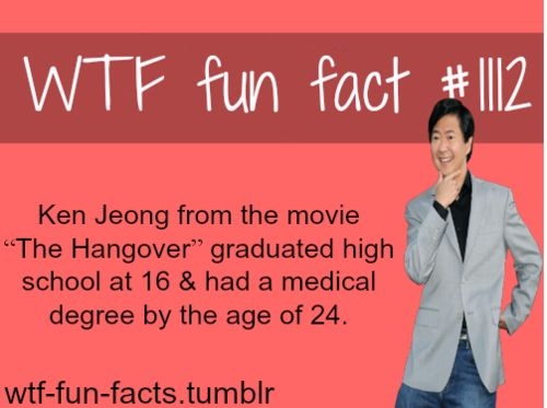 (SOURCE) - Movies facts - Ken Jeong life, biography, and medicine career MORE OF WTF-FUN-FACTS are coming HERE funny and weird facts ONLY