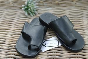 Stella Slide - St. Moritz Design - Summer Shoes, Handbags, Slides and Accessories. Flat Leather Slides