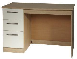 Knightsbridge Cream Desk - 3 Drawer