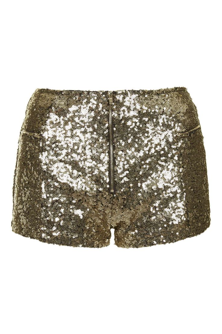 22 Photo 1 of **Infinity Gold Sequin Mini Shorts by WYLDR