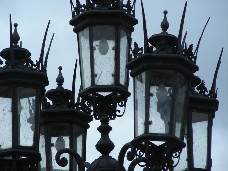 15th Century Lamp post, Dresden, Germany.