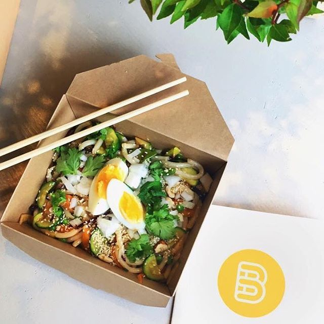 I nuovi #Noodles di Banco, cucinati al wok, con verdure saltate, coriandolo, salsa speciale al sesamo, cipollotto e frutta secca. Con le varianti Chicken, Fish e Veggie. #banco #wok #oriental #food #foodporn #goodstuff #thisisfood