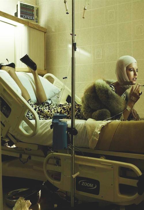 """Makeover Madness"" Steven Meisel Vogue Italia 2005"