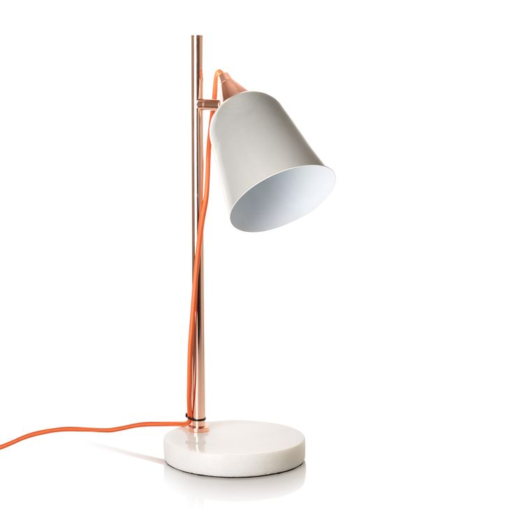 Buy the Grey Table Lamp with Marble Base at Oliver Bonas. Enjoy free UK standard delivery for orders over £50.