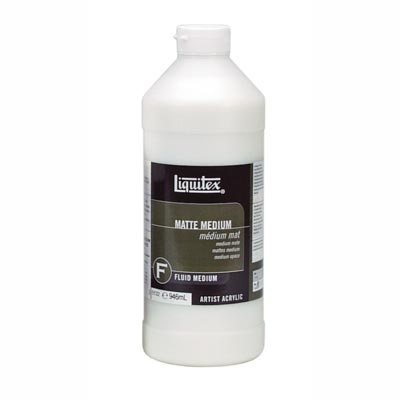 Liquitex Matte Medium-simply a MUST when using acrylics on canvas