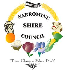 New South Wales - Narromine Shire Council - located in the Orana region of NSW and adjacent to the Mitchell Highway and the Main Western railway line. The Shire includes the towns of Narromine, Trangie and Tomingley.