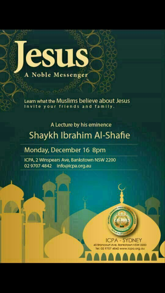 English Lucture by Sheikh Ibrahim about Jesus