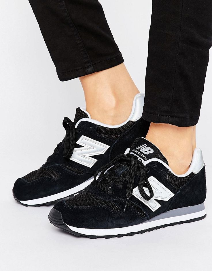 New Balance - 373 - Schwarze Sneaker in 2020 | Black new ...