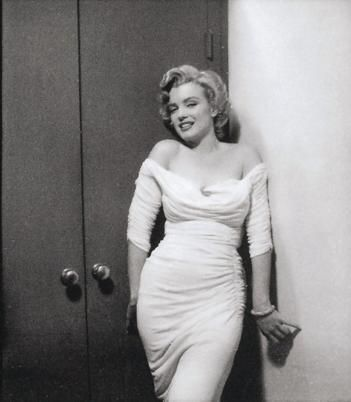 Marilyn Monroe. Photo by Philippe Halsman, 1952