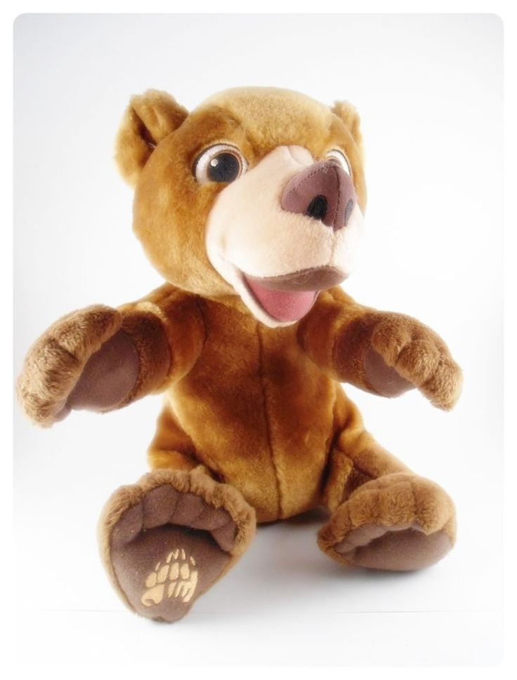 Tumble 'n Laugh KODA Talking Teddy Bear SEE VIDEO Battery Operated Brother Bear #Hasbro