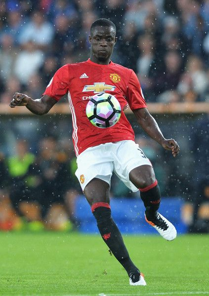 Eric Bailly Photos Photos - Eric Bailly of Manchester United in action during…