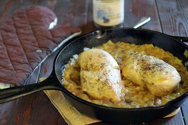 Chicken and Leeks with Spicy Plum Chutney | Food with Feet | Pinterest