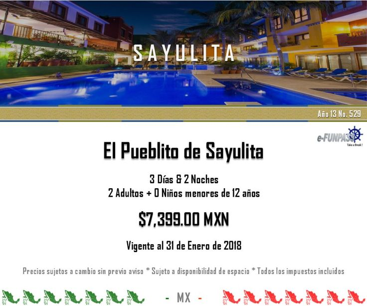 e-FUNPASS Año 13 No. 529 :) Sayulita