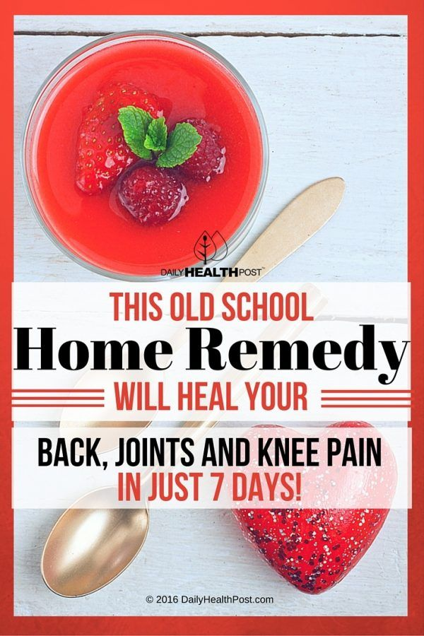 Homemade Remedies For Arthritis And Joint Pain Health Pinterest