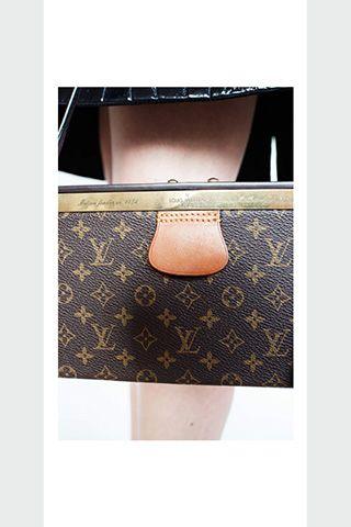 Louis Vuitton F/W 2014, Monogram Petite Malle / Garance Doré