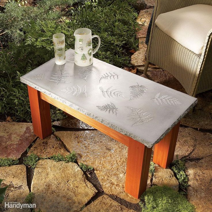 If you want a tabletop that's elegant enough for any indoor setting and tough enough to withstand outdoor weather, you've found it. Tables similar to this one sell for hundreds at garden centers and outdoor furniture stores. But you can make one yourself for much less. And, this project is simple enough for even beginning woodworkers to tackle.