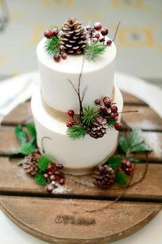 Sometime simple is better Wedding Cake
