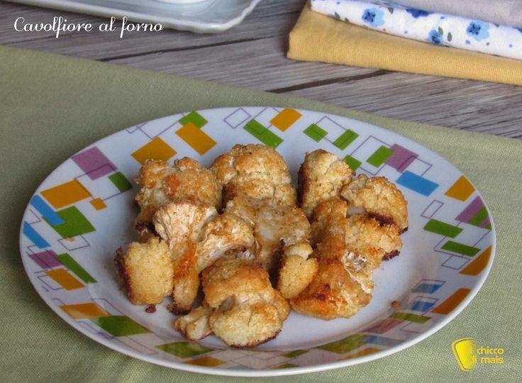 Cavolfiore+al+forno,+leggero+e+saporito