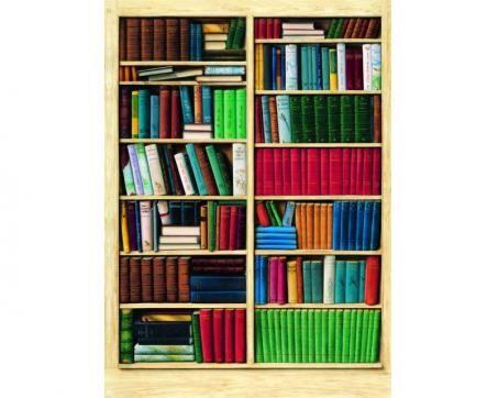 Papírová fototapeta - Knihovna 183 x 254 cm Kliknutím zobrazíte detail obrázku.