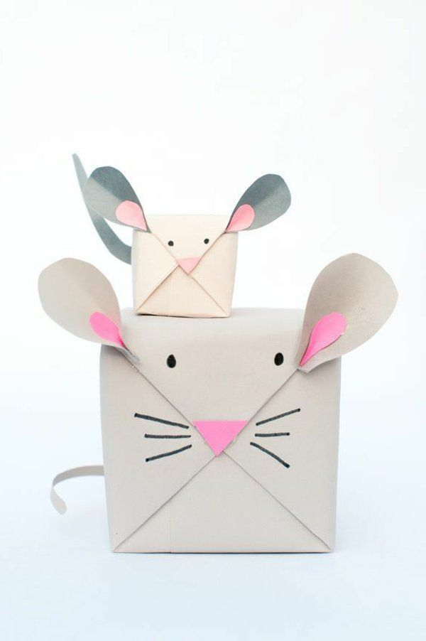 Les 25 meilleures id es concernant papier cadeau original - Idee emballage cadeau original ...