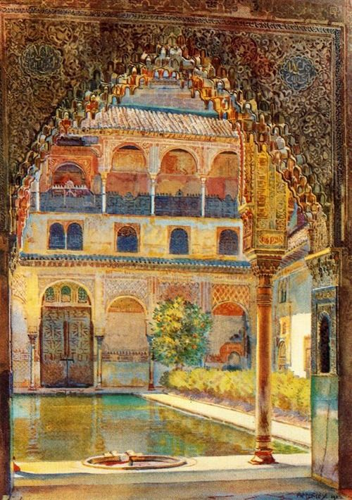 "Jorge Apperley ""Patio de los Arrayanes"""