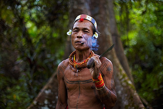 Mentawai Shamen, Mentawai Islands, Indonesia