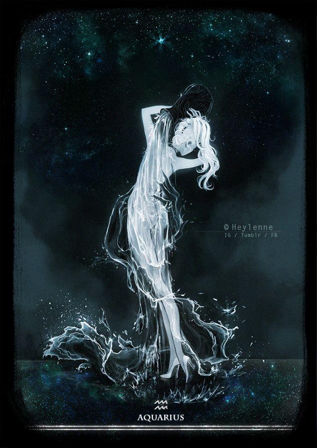 Aquarius by Heylenne.deviantart.com on @DeviantArt