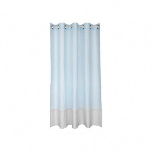 Small Leaves Eyelet Blackout Curtains Kraftkids Colour Light Blue Size 230cm H X 114cm W Windowtreat Curtains Insulated Blackout Curtains Blackout Curtains