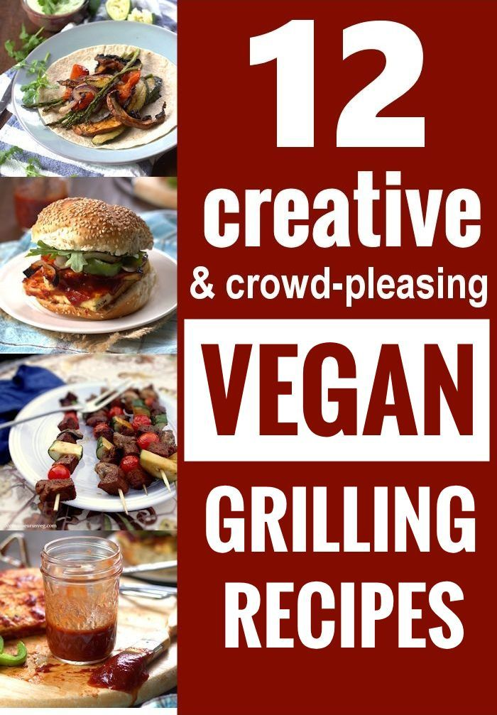 These creative vegan grilling recipes prove that barbecues can be just as fun for those on a plant based diet.