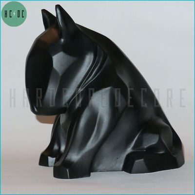 BULL TERRIER BLACK MAT