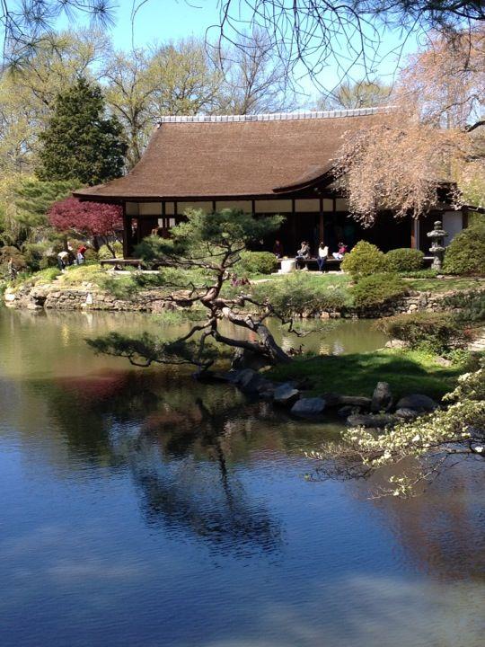 Shofuso Japanese House And Garden, West Fairmount Park, Philadelphia, USA