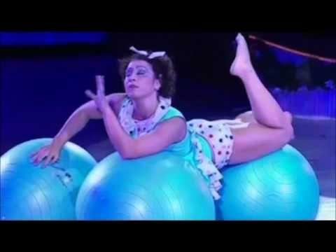 Ball Show - Tatiana Konoballs @ Feuerwerk der Turnkunst - www.3balls.de - YouTube