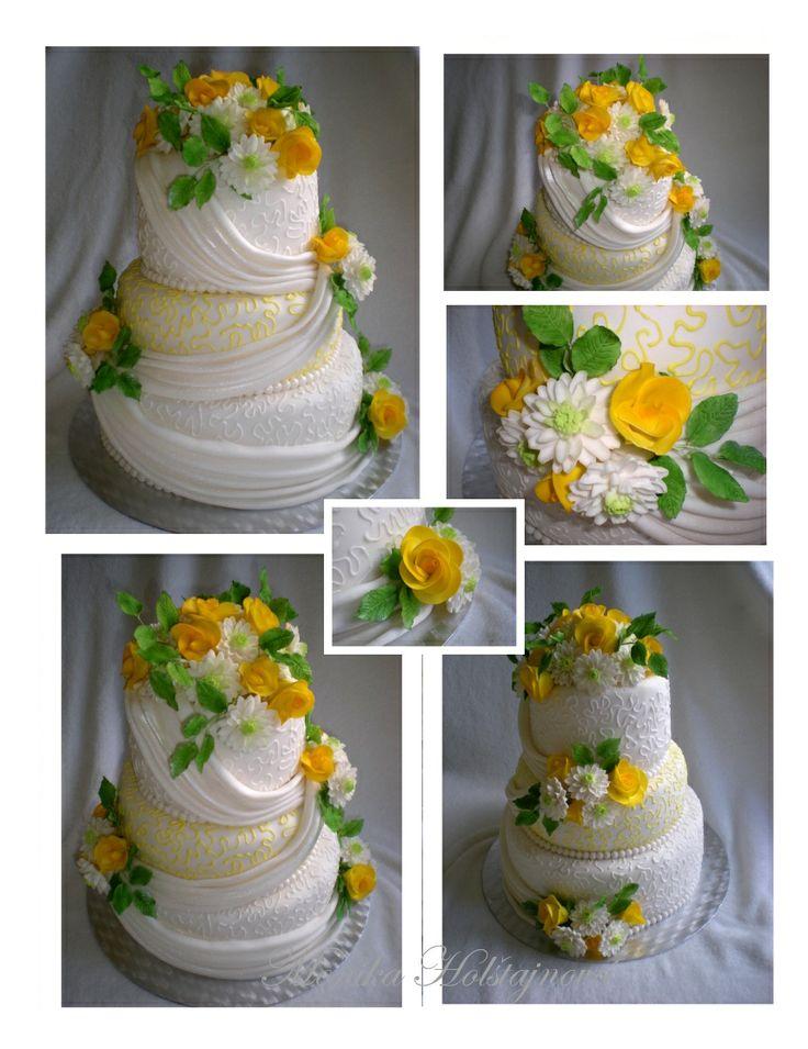 svatební dort z několika pohledů. TO je výborný nápad na upoutávku ve vašem webu. Vyberte si distribuci v sociálních sítích u nás - více na www.nifos.cz