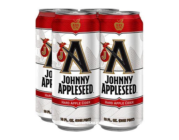 Anheuser Busch's new Johnny Appleseed Hard Apple Cider #hardcider www.LiquorList.com @LiquorListcom #LiquorList